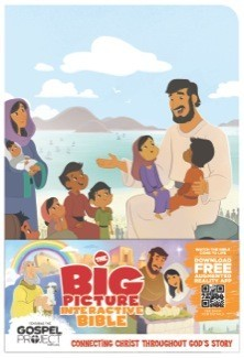 The Big Picture Interactive Bible for Kids, Jesus Edition LeatherTouch: Connecting Christ Throughout God's Story (The Gospel Project) *Scratch & Dent*