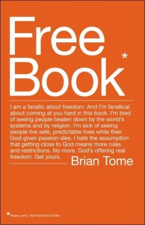 Free Book: I am a fanatic about freedom. I'm tired of seeing people beaten down by the world's systems and by religion. God's offering real freedom. Get yours.