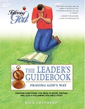 Following God: Leader's Guide Praying God's Way