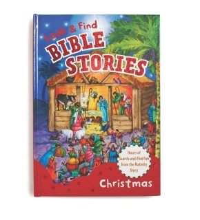 Look and Find Bible Stories: Christmas *Scratch & Dent*