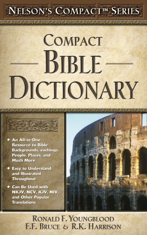 Nelson's Compact Series: Compact Bible Dictionary *Scratch & Dent*