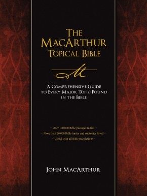 The MacArthur Topical Bible: A Comprehensive Guide to Every Major Topic Found in the Bible *Scratch & Dent*