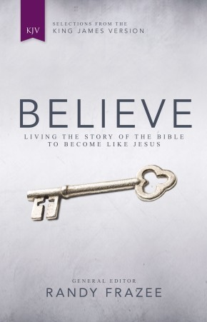 KJV, Believe, Hardcover: Living the Story of the Bible to Become Like Jesus *Scratch & Dent*