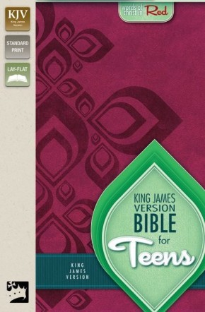 KJV, Bible for Teens, Imitation Leather, Red, Red Letter